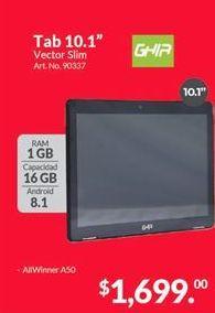 Oferta de Tablet Android Ghia por $1699