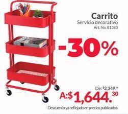 Oferta de Carrito auxiliar por $1644.3