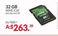 Oferta de Memoria externa Kingston por $263.2