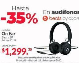 Oferta de Audífonos de diadema Beats por $1299.35