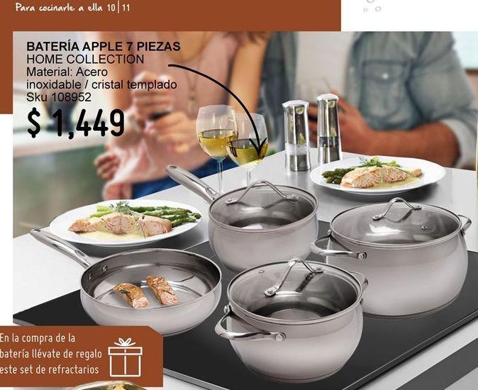 Oferta de Batería de cocina Home Collection por $1449