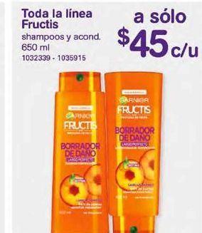 Oferta de Shampoo Garnier por $45