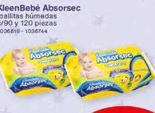 Oferta de Toallitas húmedas para bebé Absorsec por