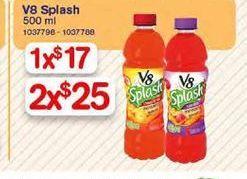Oferta de Jugos V8 por $25