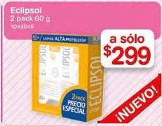 Oferta de Protector solar Eclipsol por $299