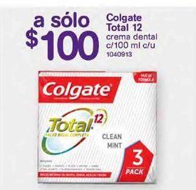 Oferta de Crema dental Colgate por $100