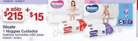 Oferta de Toallitas húmedas para bebé Huggies por $215
