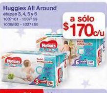 Oferta de Pañales Huggies por $170