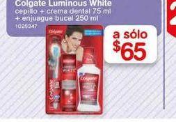 Oferta de Higiene bucal Colgate por $65