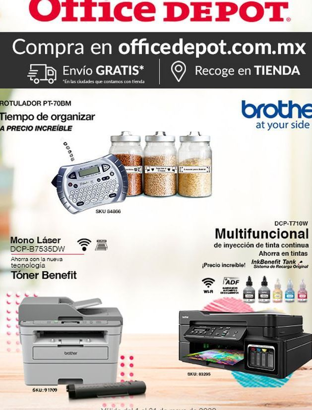 Oferta de Impresoras Brother por