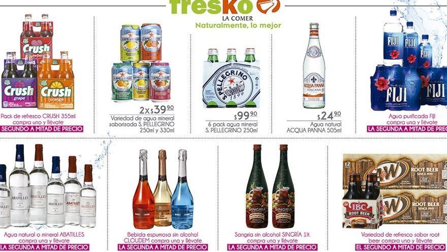 Oferta de Refrescos Crush por