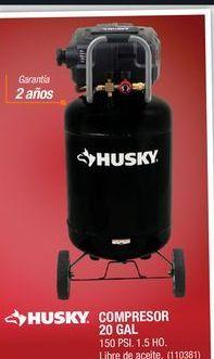Oferta de Compresor de aire Husky por