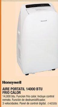 Oferta de Aire acondicionado portátil Honeywell por