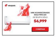 Oferta de Aire acondicionado por $6999