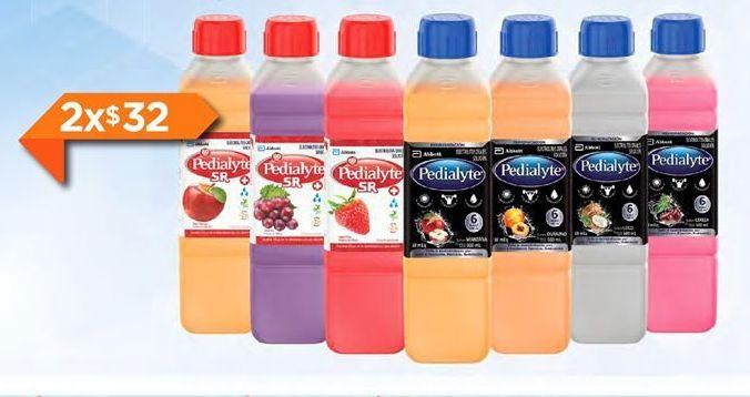 Oferta de Bebidas Pedialyte por $32