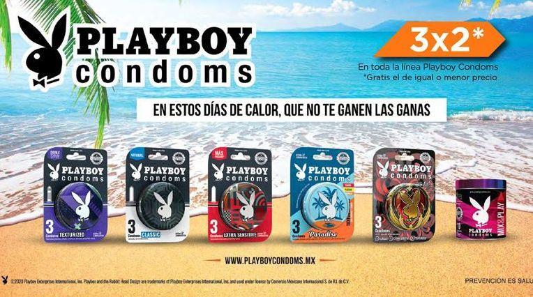 Oferta de Condones Playboy por
