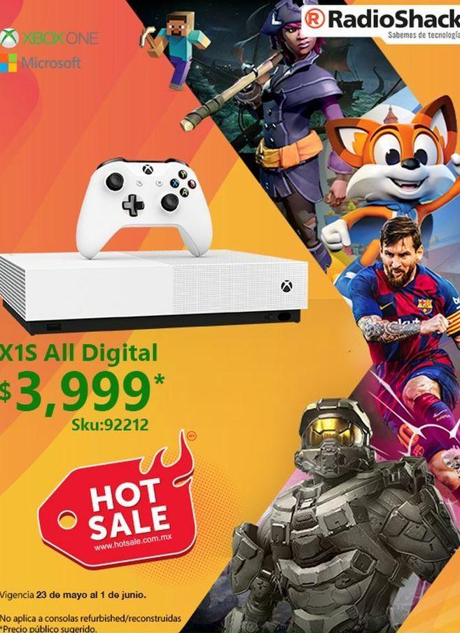 Oferta de Xbox One Microsoft por $3999