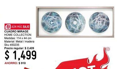 Oferta de Cuadros Home Collection por $1499