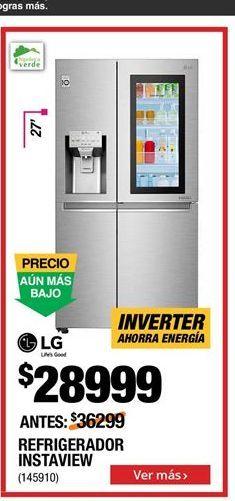 Oferta de Refrigeradores LG por $28999