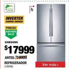 Oferta de Refrigeradores Samsung por $17999