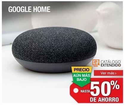 Oferta de Google Home por