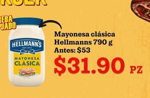 Oferta de Mayonesa Hellmann's por $31.9
