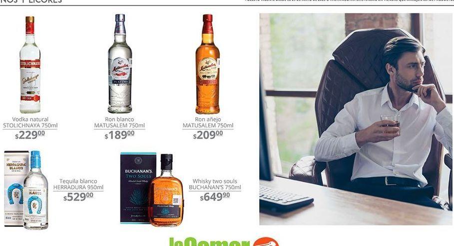 Oferta de Vodka Stolichnaya por