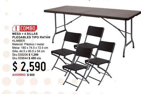 Oferta de Mesa plegable por $2590