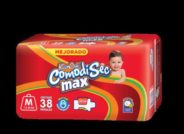 Oferta de Pañales Comodisec Mediano Et 3 38 pz por $82.6