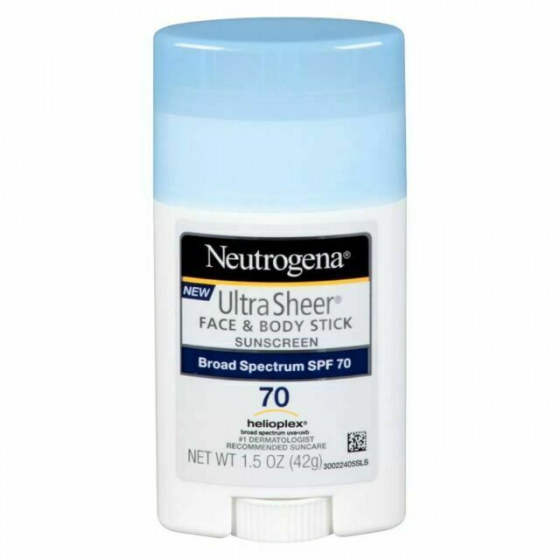 Oferta de Neutrogena Bloqueador Solar Barra Facial y Corp Fps 70 44 ml por $199