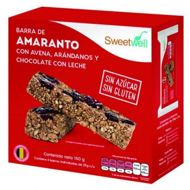 Oferta de Barras de Amaranto Avena Arandanos Chocoleche 1 gr por $59.9