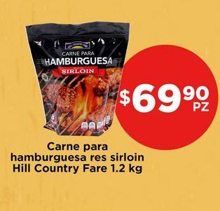 Oferta de Hamburguesa de res Hill Country Fare por $69.9
