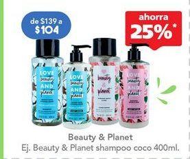Oferta de Shampoo por $104