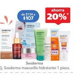 Oferta de Crema facial por $107