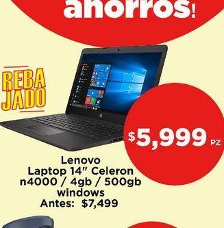 Oferta de Laptop Lenovo por $5999