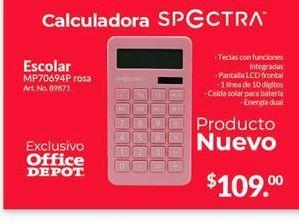 Oferta de Calculadora Spectra por $109