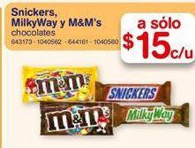 Oferta de Chocolate M&M's por $15