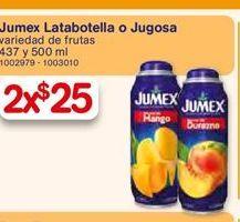 Oferta de Jugos Jumex por $25