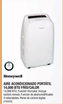 Oferta de Aire acondicionado Honeywell por