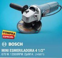 Oferta de Esmeriladora Bosch por