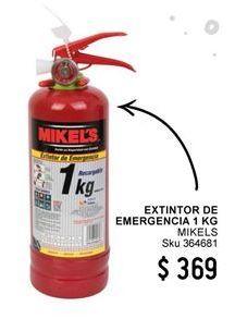 Oferta de Extintor de coche por $369