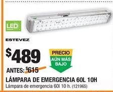 Oferta de Lámpara led por $489