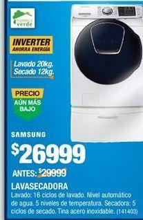 Oferta de Lavadora secadora Samsung por $26999