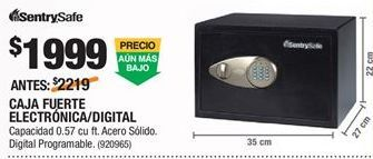 Oferta de Caja fuerte Sentry por $1999