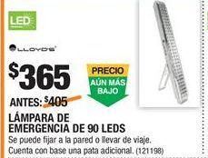 Oferta de Lámparas Lloyds por $365