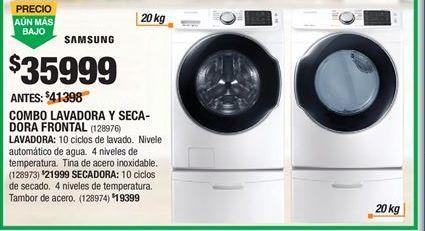 Oferta de Lavadoras Samsung por $35999