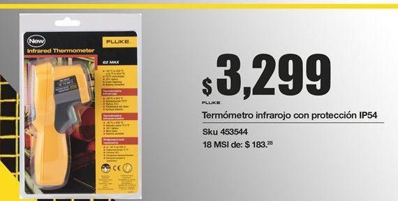 Oferta de Termómetro infrarrojos Fluke por $3299