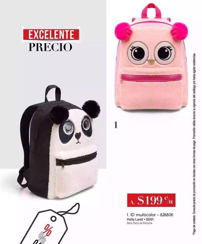 Oferta de Back Pack de Peluche por $199
