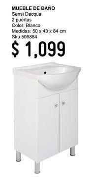 Oferta de Muebles para baño por $1099