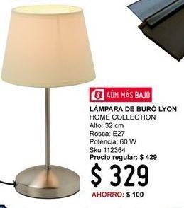 Oferta de Lámparas Home Collection por $329
